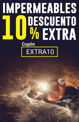 10% descuento extra en Ropa Impermeable