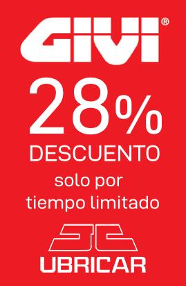 Descuento 28% GIVI