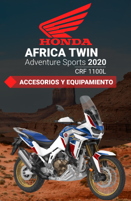 Accesorios para Honda CRF 1100L Adventure Sports 2020-