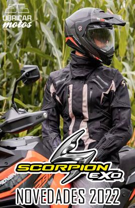 Novedades 2022 Cascos de moto Scorpion Exo